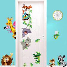 Cartoon Lion Tiger Animals Vinyl Wall Stickers Kids Bedroom Playroom Ontvx NdHNs
