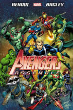 Avengers Assemble by Brian Michael Bendis, Mark Bagley, Brian M Bendis, Used Exc