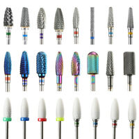 Nail Drill Replacement Grinding File Bits for Electric Machine Nail Art Tools