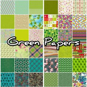 Decopatch Paper, Decoupage Paper Half Sheet GREEN, TEAL ***Inc Texture Papers***