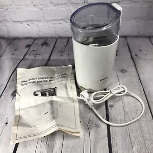 Krups Fast One Touch Coffee Bean Mill Grinder Type 203 White