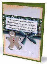 Sizzix Gingerbread Man, Flower Emboss set #658193 Retail $10.99 FREE Snowman die