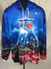 New York Rangers Pullover with Logo and NY Skyline XL