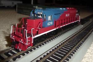 Bowser Trains HO Executive Line GMD SD40-2 HLCX (EX QNSL)  #6219 with Kadees