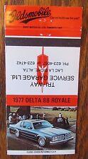 1977 OLDSMOBILE CAR DEALER: TRI-WAY SERVICE GARAGE (LAC LA BICHE, ALBERTA) -JL24
