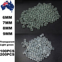 200PCS Solid Glass Balls 6 - 9mm Slingshot Beads Catapult Marbles Hunting Ammo