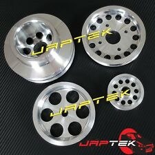 Lightweight Underdrive Pulley Set for Nissan 300zx z32 VG30DETT 3.0LT Twin Turbo