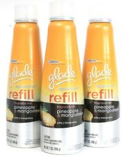 3 Ct Glade Expressions 7 Oz Pineapple & Mangosteen Exotic Fragrance Mist Refill