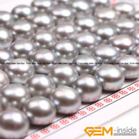 10mm Natural Half Drilled Freshwater Pearl Beads For Stud Earring Making 27 Pair