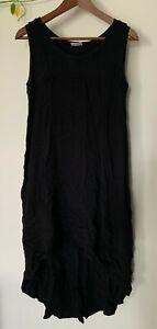 Soon Maternity black maxi dress - A-line -  size S