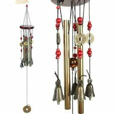 """24"""" Large Tubes Wind Chime Chapel Bells Wind Chimes Outdoor Garden Home Decor Us"""