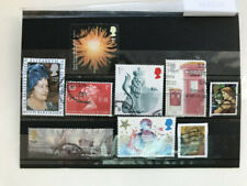 United kingdom, England, 9 used stamps, VF, no duplicates