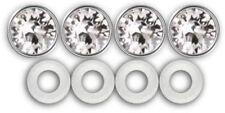 Diamond Bling Screw Covers License Plate Frame
