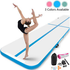 High Quality 13FT 16FT Inflatable Gymnastics Air Track Tumbling Mat With Pump