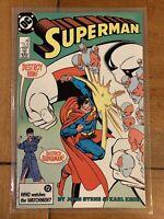 VINTAGE SUPERMAN #6 JUNE 1987 COMIC * DC COMICS * DESTROY SUPERMAN NM