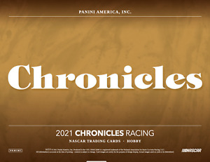 Jeremy Clements 2021 Panini Chronicles Racing 1X CASE 16X BOX BREAK