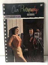 Vintage 1951 Color Photography Outdoors Kodak Data Handbook Softcover First Ed.