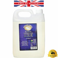 5L Distilled White Vinegar For Cleaning Pickling Marinating & Cooking Made in UK