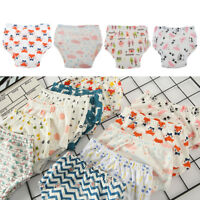 Adorable Cartoon Potty Training Pants Kids Baby's Absorbent Diapers Covers