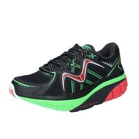 men's shoes MBT 8,5 (EU 42) sneakers black green textile cushioning BS385-42