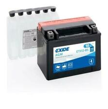 Exide YTX12-BS 12 V 10 Ah Batterie Moto