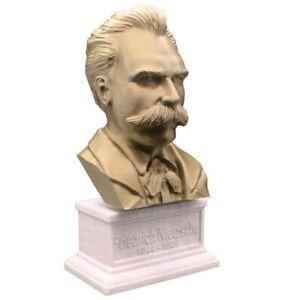 Friedrich Nietzsche 3D Printed Bust Famous German Philosopher Art FREE SHIP