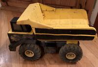 Vintage Tonka Pressed Steel 1999 Yellow Classic Dump Truck