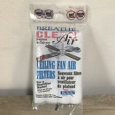 BioStrike Ceiling Fan Air Filter Replacement Filter 2 Filters For One Fan