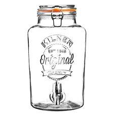 KILNER Barattolo in vetro con dispenser spillatore per drink 8 L cod. 0025.403