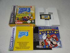 Super Mario Advance 4 Super Mario Bros. 3  GBA Spiel komplett mit OVP &Anleitung