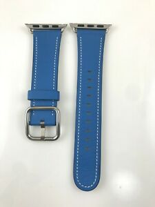 Original OEM Apple Watch 38mm Classic Buckle leather Band 2018 Softgoods offsite