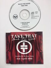 Take That Back For Good CD single  UK promo TAKE21 RCA 1995