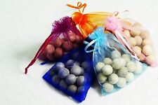 Cedar Wood 20pcs Bag Hearts Natural Moth Ball Repellent Deterrent Clothes