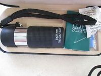 *THE GOLF SCOPE 8 X 21 mm WITH BLACK CASE & WITH INSTRUCTION* *NEW NEVER USED*