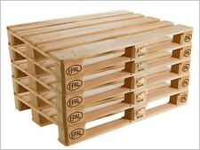 N° 15 Bancali in legno 120x80 Pedana Pallet Bancali EUR  EPAL nuovi grezzi