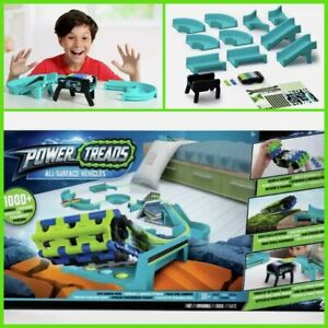 Brand New Boxed Power Treads All Surface Vehicle & Epic Tracks Glow In The Dark