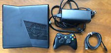 Microsoft Xbox 360 S 4Gb Console & 1 Controller Tested & Working - No Hard Drive