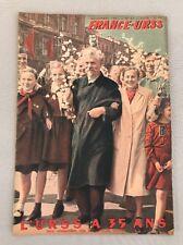 FRANCE-URSS de Novembre  1952 Numéro 87