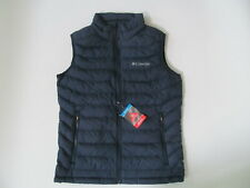 Columbia White Out  Omni Heat Puffer  man blue vest   Brand New