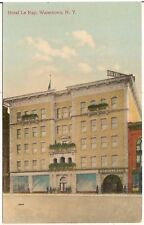 Hotel Le Ray in Watertown NY Postcard