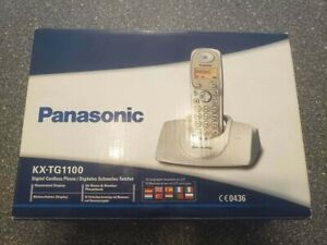 Panasonic KX-TG1100 - Digitales Schnurlos-Telefon - NEU & Komplett