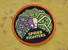 ~ Atari Video Game Vintage 80's Activision Award Patch -- Spider Fighter ~