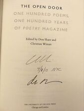 Don Share & Others, OPEN DOOR - ONE HUNDRED POEMS *SIGNED 6 TIMES* 2012 HBDJ