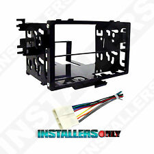 95-7801 Double Din Car Stereo Mount & Wires for Honda, Radio Install Dash Kit