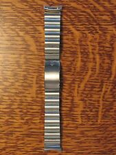 "Kreisler Accutron Stelux Stainless Steel Mens Watch Band NOS 17.5mm 11/16"" 18mm"