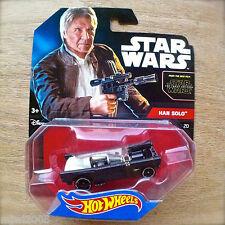 Disney STAR WARS Hot Wheels HAN SOLO #20 diecast Mattel The Force Awakens