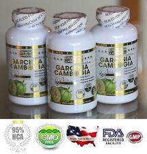 GARCINIA CAMBOGIA EXTRACT 100% PURE EXTREME MAX 95% HCA, NO CALCIUM, MAXIMUM STR