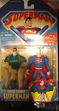 (1996) SUPERMAN ANIMATED SERIES FIGURE LOT DEEP DIVE QUICK CHANGE - NEW