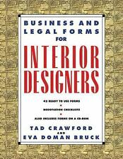 Business and Legal Forms for Interior Designers (Business and Legal Forms Serie