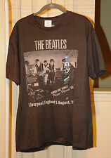 Beatles Cavern Club Tshirt Short Sleeves Size L Unisex Gray NEW with Tags